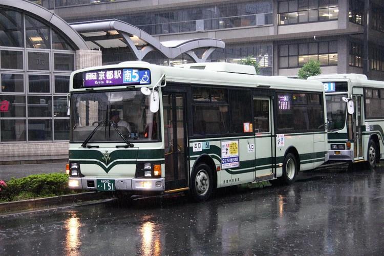 京都市交通局 京都200か・151 いすゞKK-LR233J1