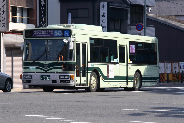 京都市バス 京都200か1532 日野PJ-KV234N1
