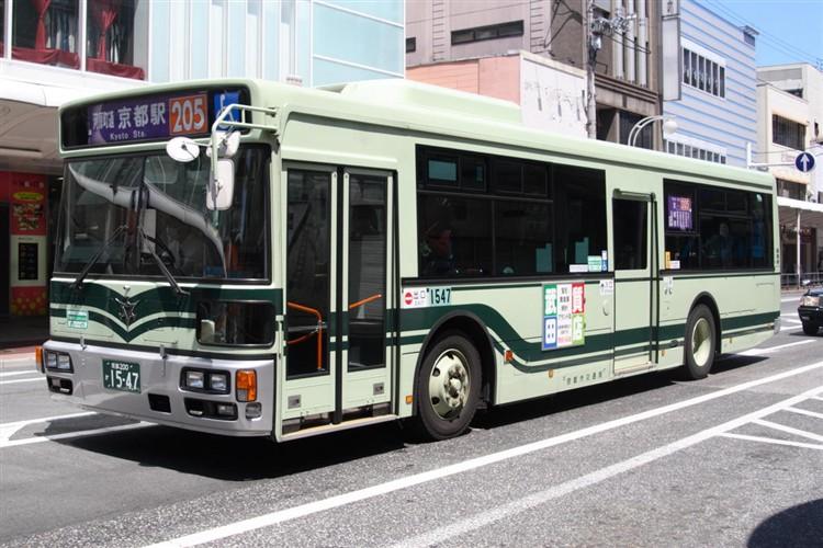 京都市バス 京都200か1547 日野PJ-KV234N1