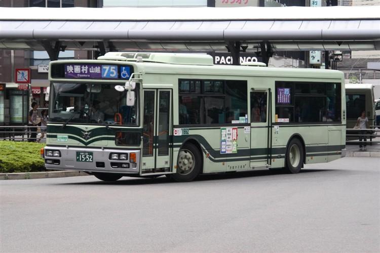 京都市バス 京都200か1552 日野PJ-KV234N1
