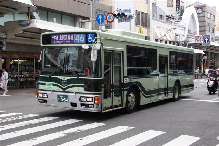 京都市バス 京都200か1554 日野PJ-KV234L1