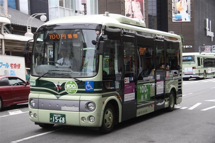 京都市バス 京都200か1568 日野ADG-HX6JLAE