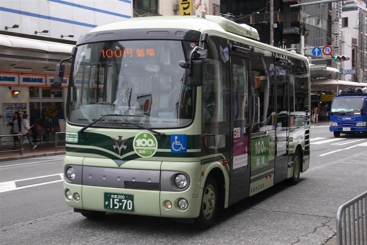 京都市バス 京都200か1570 日野ADG-HX6JLAE