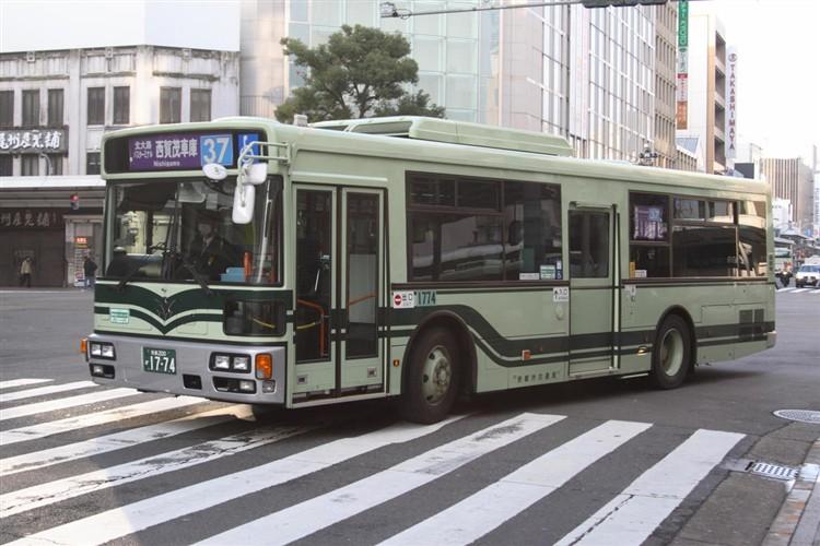 京都市バス 京都200か1774 三菱PDG-AA273KAN