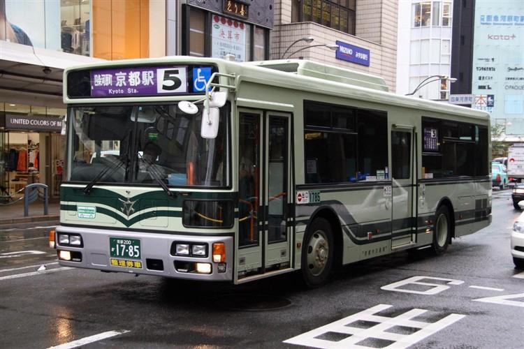 京都市バス 京都200か1785 三菱PDG-AA273KAN