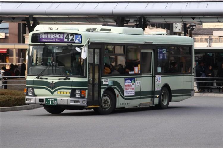 京都市交通局 京都200か・190 いすゞKK-LR233J1