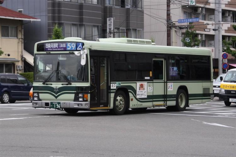 京都市交通局 京都200か・196 いすゞKL-LV280N1