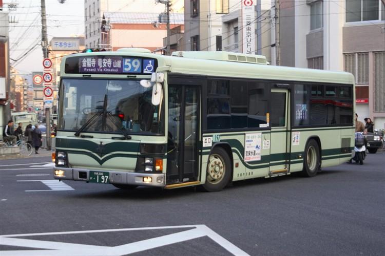 京都市交通局 京都200か・197 いすゞKL-LV280L1