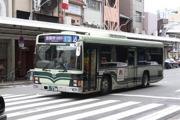 京都市交通局 京都200か・198 いすゞKL-LV280L1
