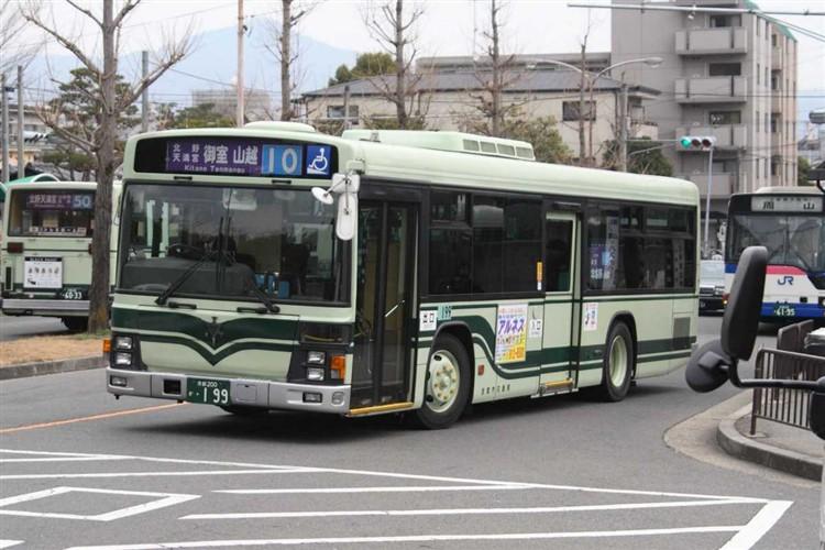 京都市交通局 京都200か・199 いすゞKL-LV280L1