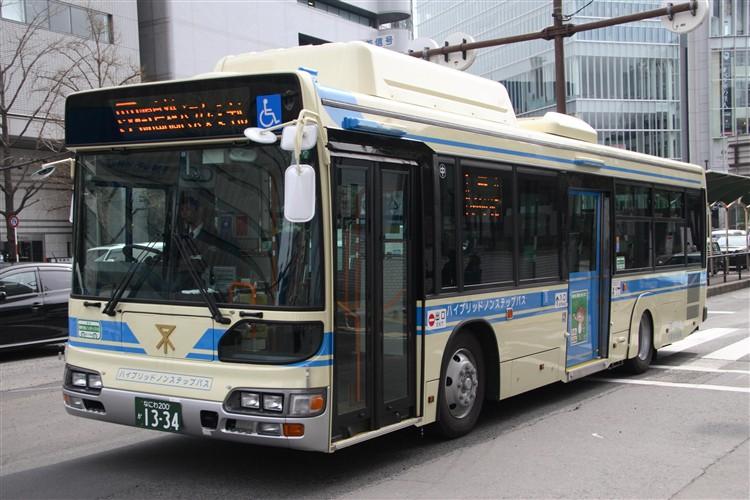 大阪市交通局・日野ハイブリッドノンステップバス