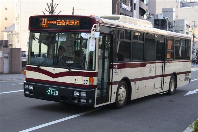 京都バス37号車 日産ディーゼルPKG-RA274MAN