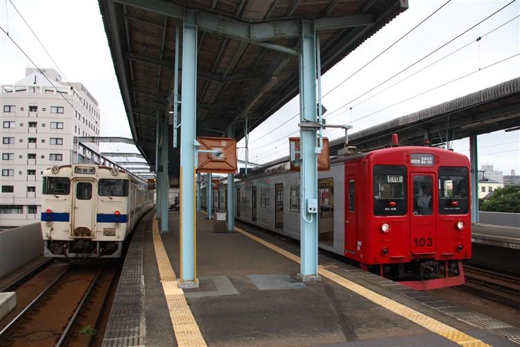 唐津駅 キハ47 103系1500番台