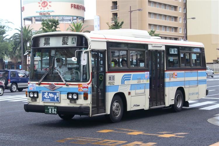 佐世保市交通局 富士重6E(たぶん)