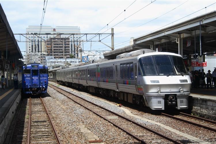 長崎駅 キハ47 白くないかもめ