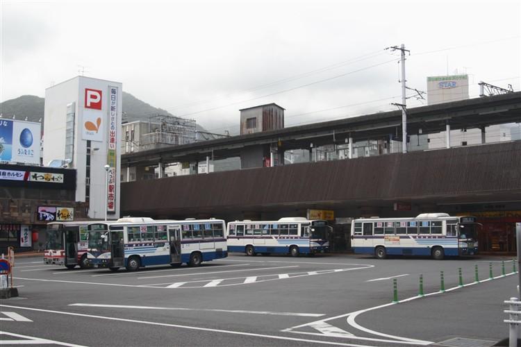別府駅前 バス乗り場