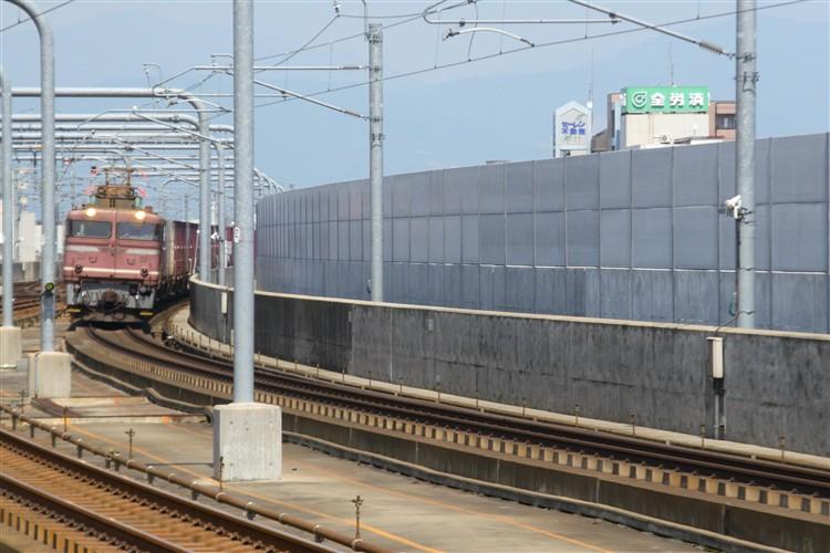 福井駅ホーム金沢方