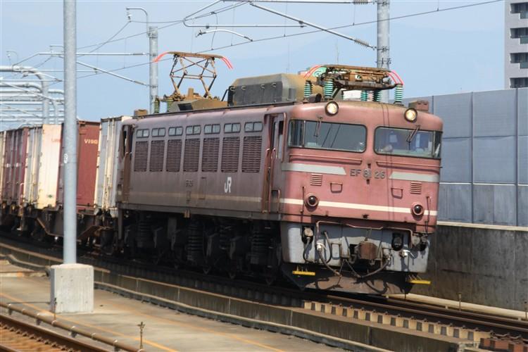 EF81-26 福井駅