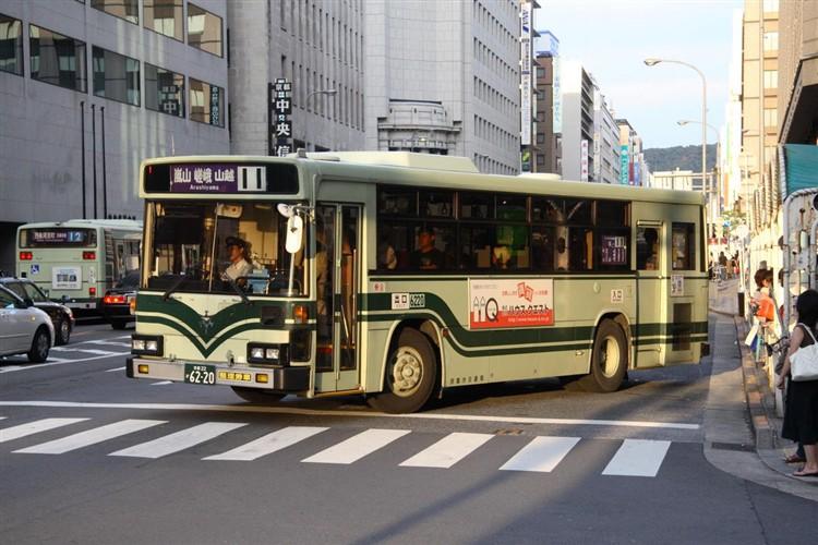 6220_2006-08-30 IMG101_3668 京都市交通局6220 いすゞKC-LV280L