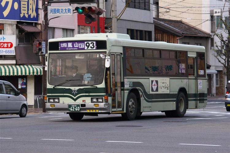 京都市交通局6260 いすゞKC-LV280L