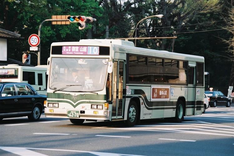 京都市交通局6270 いすゞKC-L280L