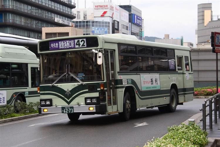 京都市交通局6273 日野KC-HU2MLCA