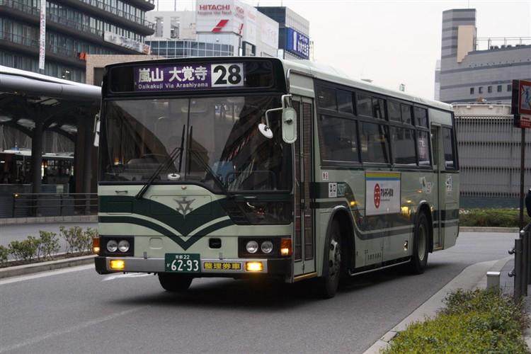 京都市交通局6293 三菱KC-MP617K