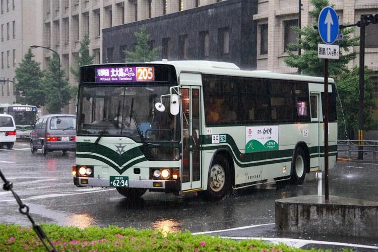 京都市交通局6294 三菱KC-MP617K