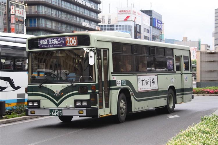 京都市バス6405 日デKC-UA460HAN