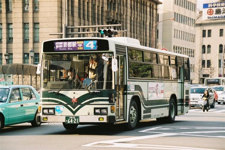 京都市バス6421 日野KC-RU1JLCH