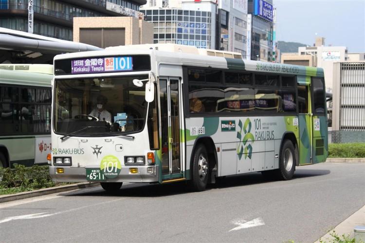 京都市バス6511 いすゞNE-LV288L