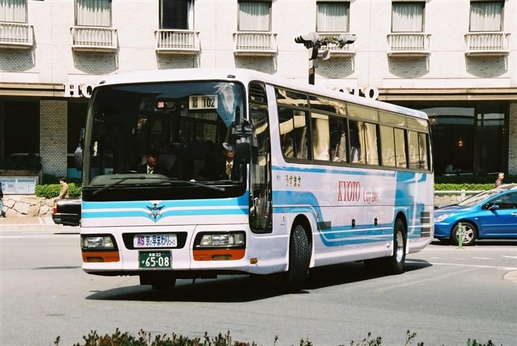 京都市バス6508 いすゞKC-LV781R1
