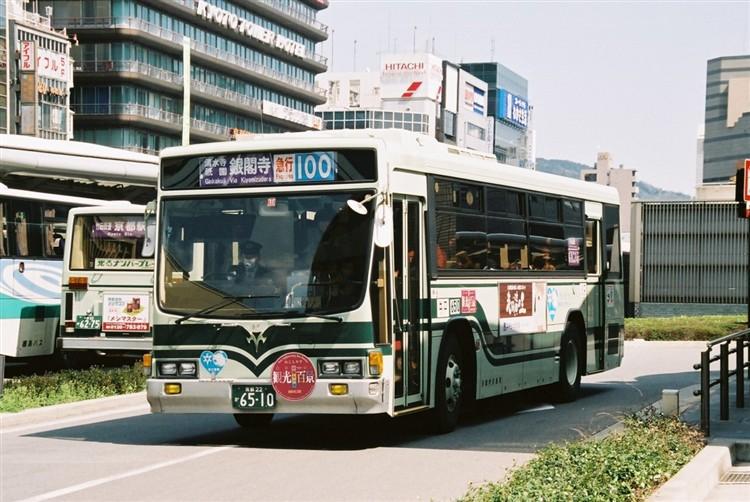 京都市バス6510 いすゞNE-LV288L
