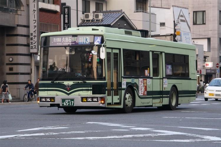 京都市バス6517 日デUA460KAN