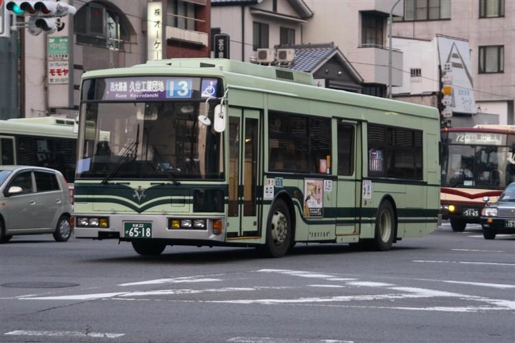 京都市バス6518 日デUA460KAN