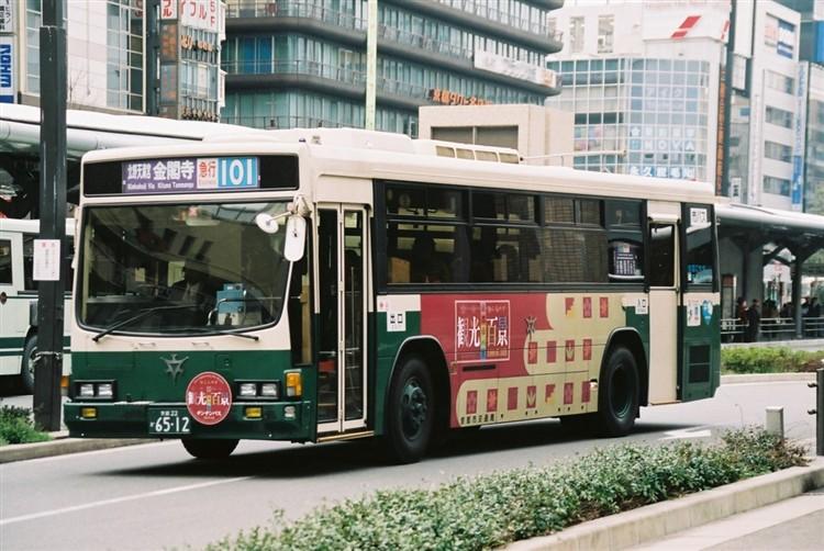 京都市バス6512 いすゞNE-LV288L