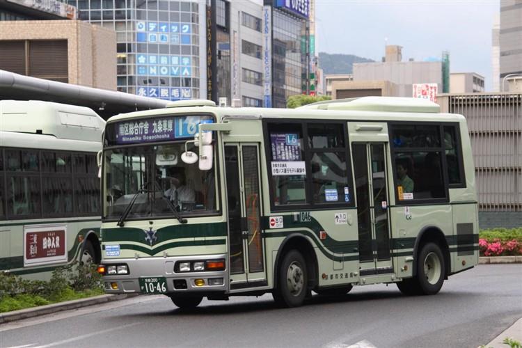 京都市バス 京都200か1046 三菱PA-ME17DF
