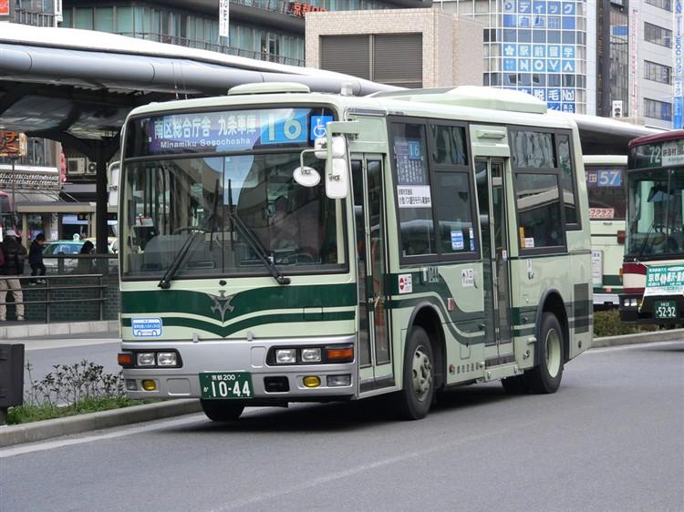 京都市バス 京都200か1044 三菱PA-ME17DF