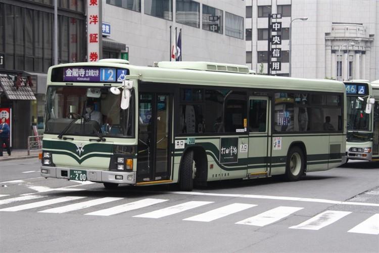 京都市交通局 京都200か・200 いすゞKL-LV280L1