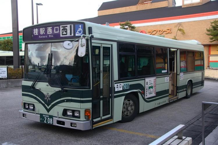 京都市交通局 京都200か・208 日野KL-HR1JNEE