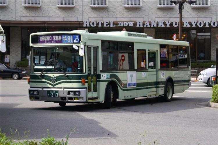 京都市交通局 京都200か・213 日デKL-JP252NAN