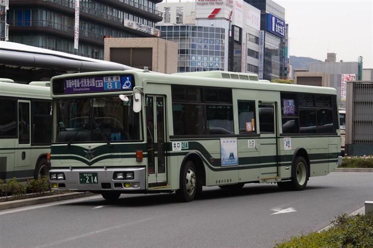 京都市交通局 京都200か・214 日デKL-JP252NAN