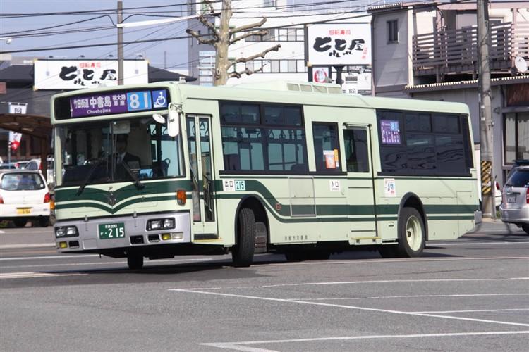 京都市交通局 京都200か・215 日デKL-JP252NAN