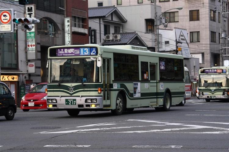 京都市交通局 京都200か・217 日デKL-JP252NAN