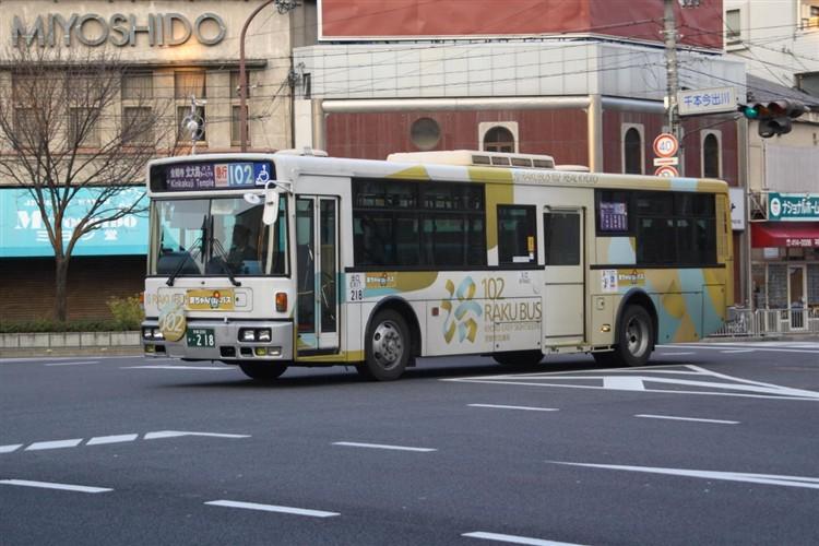 京都市交通局 京都200か・218 日デKL-JP252NAN