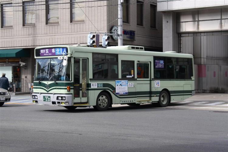 京都市交通局 京都200か・223 日デKK-RM252GAN