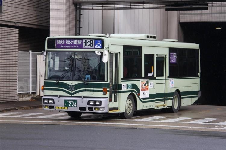 京都市交通局 京都200か・224 日デKK-RM252GAN