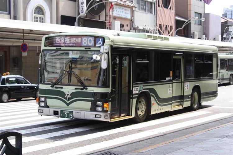 京都市交通局 京都200か・315 いすゞKL-LV834L1