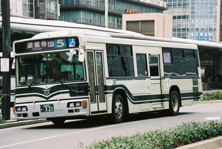 京都市交通局 京都200か・321 三菱KL-MP37JK