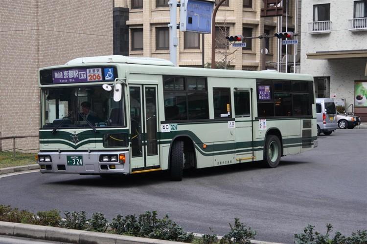 京都市交通局 京都200か・324 三菱KL-MP37JK